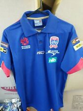Newcastle Jets Polo Shirt Size 2XL A League Football Soccer - Jersey