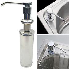 Pop Soap Dispenser Stainless Steel Kitchen Sink Liquid Hand Sanitizer Pump Box