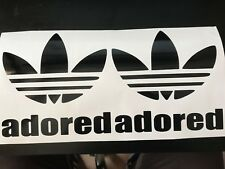 Adidas Stickers Adored I wanna be trefoil x2 The Stone Roses Ian Brown oasis VW