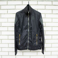 G Star Jacket Windbreaker NWOT NEW Casual Men Size S Small Black
