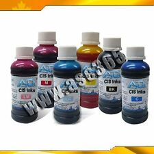 6  Colors 100ml Universal Refill Ink C M Y K LC LM for Epson Printer