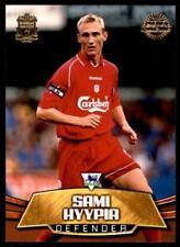 Carte collezionabili calcio originale Liverpool stagione 2002