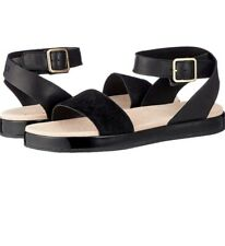 Clarks  Ladies Botanic Ivy Black Leather Sandals Uk Size 4D Eu 37