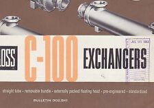 VINTAGE CATALOG #2812 - 1958 ROSS C-100 EXCHANGERS