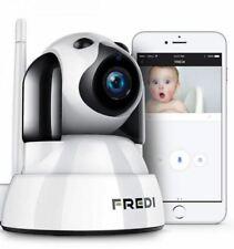 FREDI Baby Monitor Wireless 720P Security Camera, WiFi Home Surveillance IP...