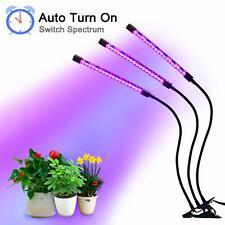 27W LED Pflanzenlampe 3 Kopf Pflanzenleuchte Voll Spektrum Pflanzenlicht Lamp
