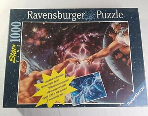 Ravensburger Star Line Genesis 1000 Piece Glow in the Dark Jigsaw Puzzle