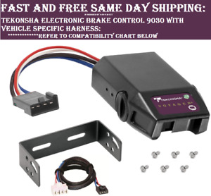 9030 Tekonsha Brake control with Wiring Harness 3026 FOR 2007-2018 GM