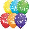 Qualatex pois Ballons de fêtes latex (hélium ou air) décoration d'anniversaire