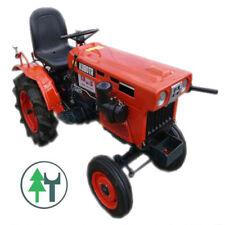 Kleintraktor Kubota B6001 Bulldog ohne Allrad überholt und neu lackiert