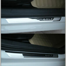 Nuovo 4 Battitacco acciaio inox Tuning Per VW GOLF 7 VII NUOVI sotto porta
