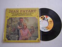 EP 45 T VINYLE , JEAN PATART , C ' EST LA MUSIQUE . VG  / EX . DEDICACE .
