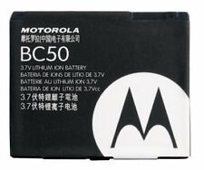 ORIGINALE Batteria Cellulare bc50 per Motorola l2, l6, SLVR l7, v3x, KRZR k1