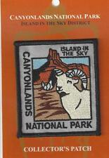 SOUVENIR PATCH - CANYONLANDS NATIONAL PARK - ISLAND IN THE SKY - BIGHORN SHEEP