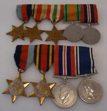 Period WW2 2ndWW World War II Set of 9 Medals RAF + Police Norman Kilham (GY49