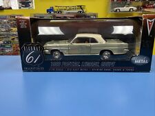 "DIE-CAST PROMOTION HIGHWAY 61 COLLECTIBLES 1963 PONTIAC LEMANS COUPE  ""NEW"""