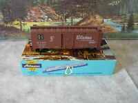 Athearn # 5013 Santa Fe El Capitan 40 ft. w/ Map Boxcar 1/87 HO C9 NIB Built