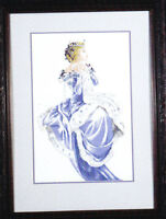 MD Mirabilia Nora Corbett design cross stitch pattern WINTER QUEEN  MD13