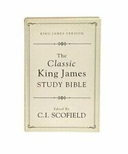Classic Authorised King James Version, Study Bible-KJV, C. I. Scofield (New)