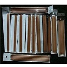 """12 Size Set Bamboo Knitting Needles SP 13.5/"""" US 0-10.5"""