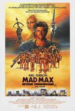 MAD MAX BEYOND THUNDERDOME Movie POSTER 27x40 B Mel Gibson Tina Turner Helen