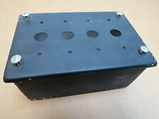 Toggle Switch Box & Lid for 4 AN3022- or MS25102 Switches WWII Aircraft NOS