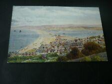 A.R.Quinton postcard *1660, Portland & Chesil Beach