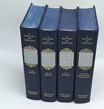 A History of England by The Folio Society 1997 Set of 4