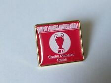 Liverpool 1977 European Cup Final badge
