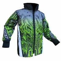 Wulfsport Kids Cub Aztec Motocross MX Quad Bike Jacket - Green