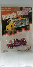 Vintage Zee Toys Classic Ford pickup Magenta, Carded 1980!