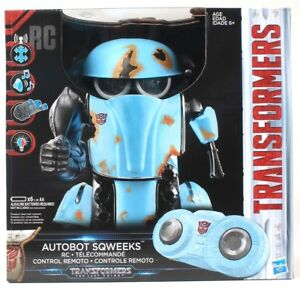 1 Hasbro Transformers Autobot Sqweeks RC Telecommande Dance Blaster Mode Ages 6+