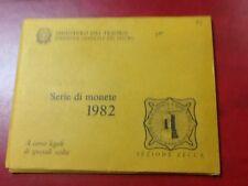 85m) ITALIA REPUBBLICA 1982 DIVISIONALE SERIE ZECCA FDC