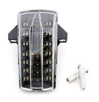 Clignotants LED Feu arrière intégrés pour Suzuki SV650/SV1000 2003-2008 Clear AF