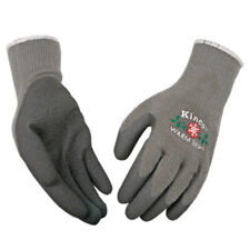 Kinco  Warm Grip  S  Latex Coated  Thermal  Gray  Dipped Gloves