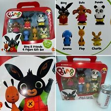 6 Figure Gift Set Bing Bunny and Friends Acamar Films Children Toys Play Gift