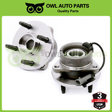 2 Chevy Cobalt Saturn Ion Pontiac G5 Pair Front Wheel Bearing and Hub 4Lug Abs (Fits: Saturn Ion)