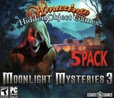 Moonlight Mysteries 3 PC Games Windows 10 8 7 XP Computer hidden object games