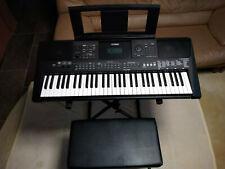 Yamaha PSR-E463+Tasche+X-Ständer+Keyboardbank