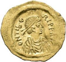 DIONYSOS Mauricius Tiberius AV-Tremissis Constantinopel Kreuz #LG 1759