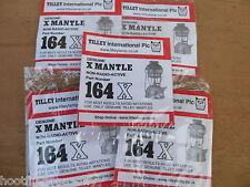 10 GENUINE TILLEY LAMP MANTLE MANTLES 164X NRA STORMLIGHT X246 PARAFFIN LANTERN