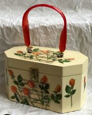 Vintage 1960'S Annie Laurie (Palm Beach) Decoupage Box Purse