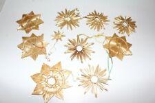 Straw Stars Christmas Decorations Tree Ornament Wall