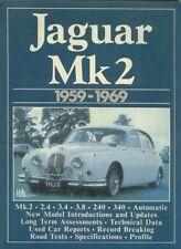JAGUAR MK2 2.4 3.4 3.8 240 & 340 ( 1959 - 1969 ) PERIOD ROAD TESTS BOOK