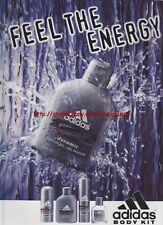 "Adidas Body Kit ""Feel The Energy"" 1998 Magazine Advert #355"