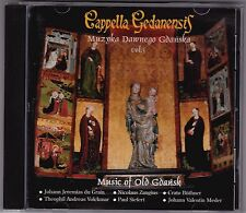 Cappella Gedanensis - Music Of Old Gdansk Vol 3 - CD