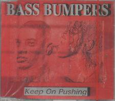 Bass Bumpers Keep On Pushing Maxi CD NEU Upspeed Radio Mix Downspeed Radio Mix