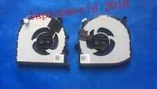 NEW FOR CN-0RVTXY CN-036CV9 FOR DELL XPS15 9550 CPU AND GPU COOLING FAN L+R