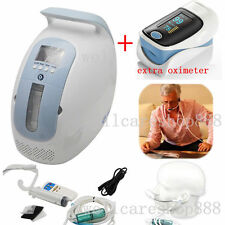 24 hrs Portable Oxygen Concentrator Generator home traval car + free oximeter PR