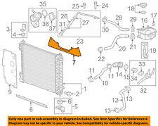 Cadillac GM OEM 12-16 SRX 3.6L-V6-Radiator Lower Bracket Left 25831015